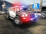 Hummer Police Parking