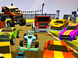 3D Arena Racing: 2 Player